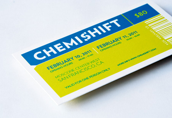 Custom Event Tickets - Chemishift