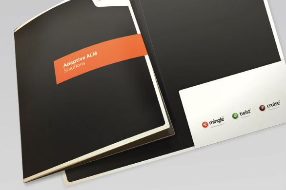 Custom Pocket Folder Printing - Adaptive ALM