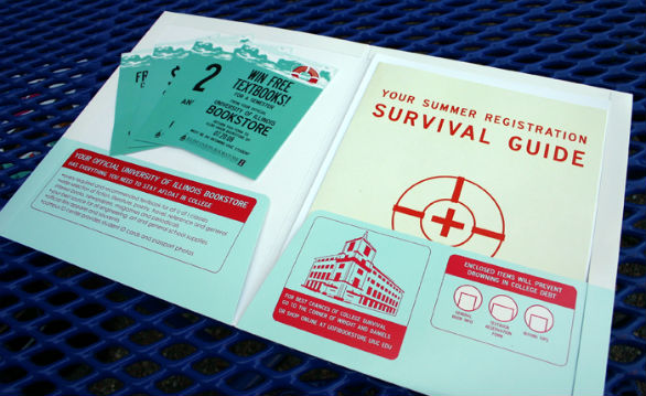 Custom Pocket Folder Printing - Illini Union Bookstore