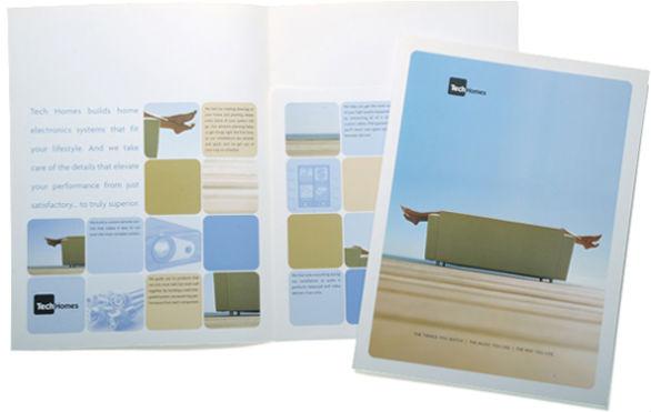 Custom Pocket Folder Printing - TechHomes