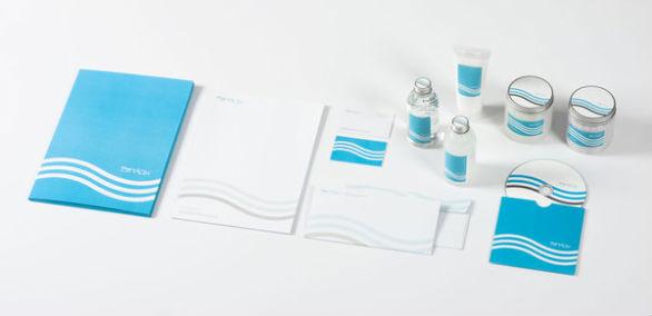 Custom Pocket Folder Printing - Eau de Relax
