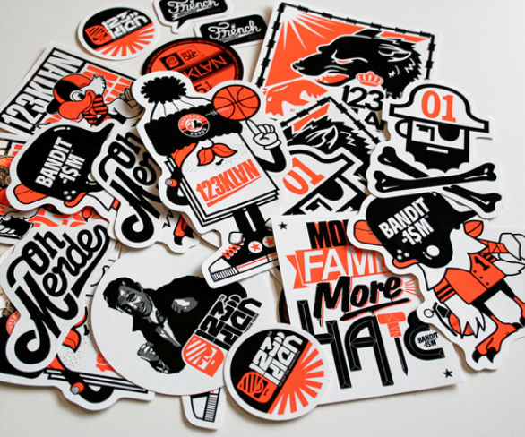 Custom sticker design available now online