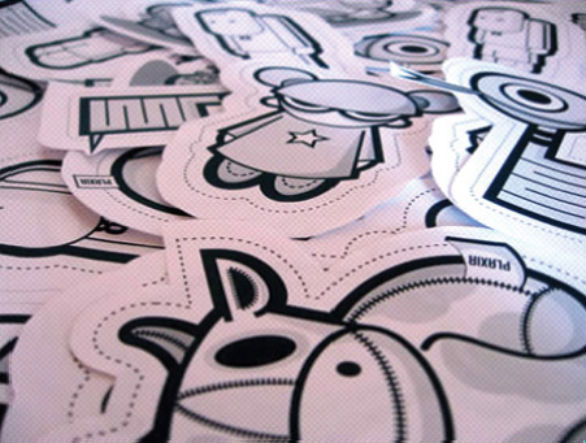 Custom Sticker Design - Ilus Varias