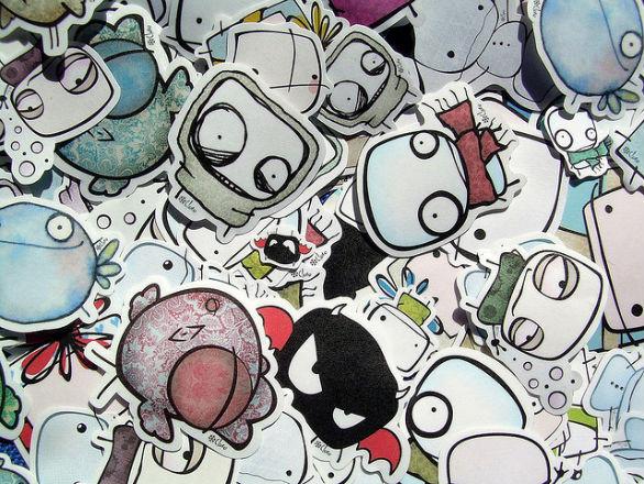 Custom Sticker Design - Stickers from Clori