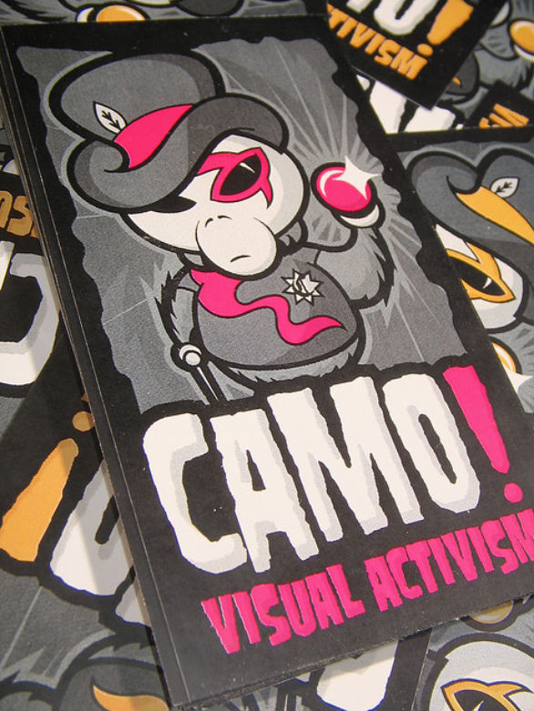 Custom Sticker Design - Camo