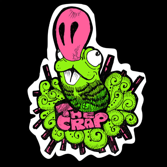 Custom Sticker Design - The Crap