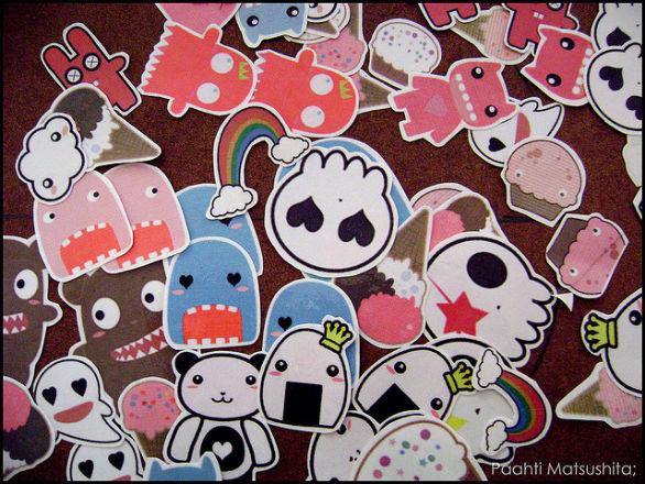 Custom Sticker Design - Paahti Matsushita