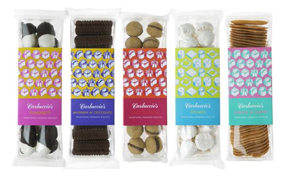 Food Label Design - Carluccios
