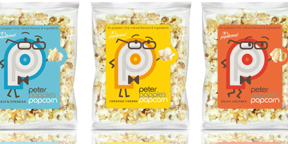 Food Label Design - Peter Popples Popcorn