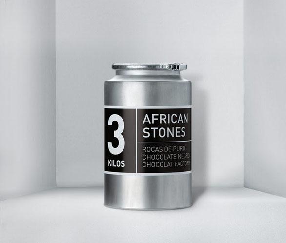 Food Label Design - Chocolat Factory