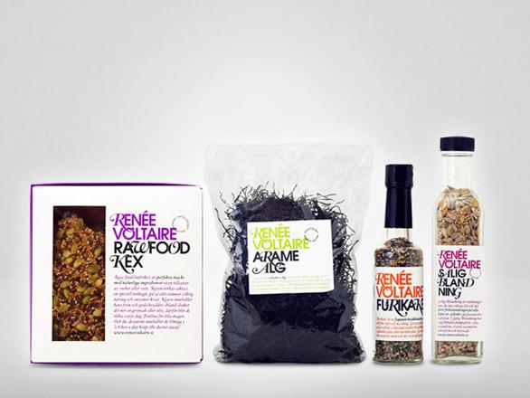 Food Label Design - Renée Voltaire