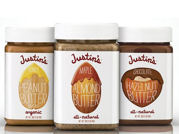 Food Label Design - Justins Nut Peanut Butter