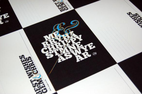 Holiday Card Ideas - Merry Christmas Postcards