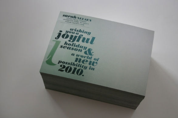 Holiday Card Ideas - Joyful