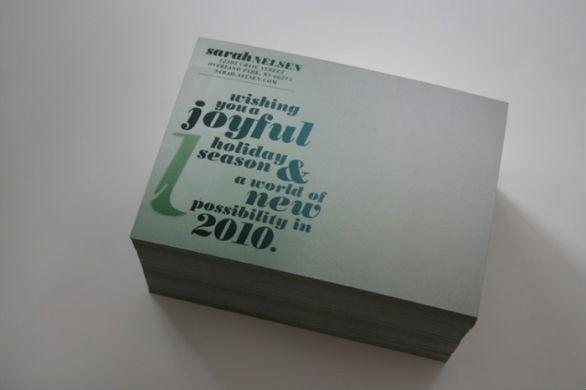 Holiday Card Ideas - Joyful