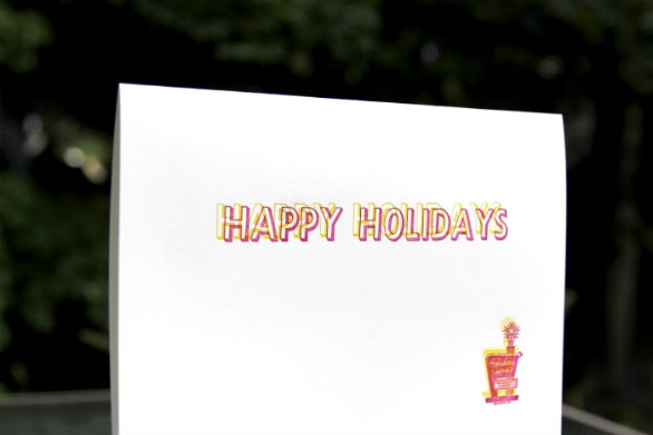 Holiday Card Ideas - Happy Holidays