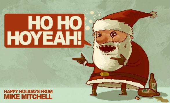 Holiday Card Ideas - Ho Ho Yeah