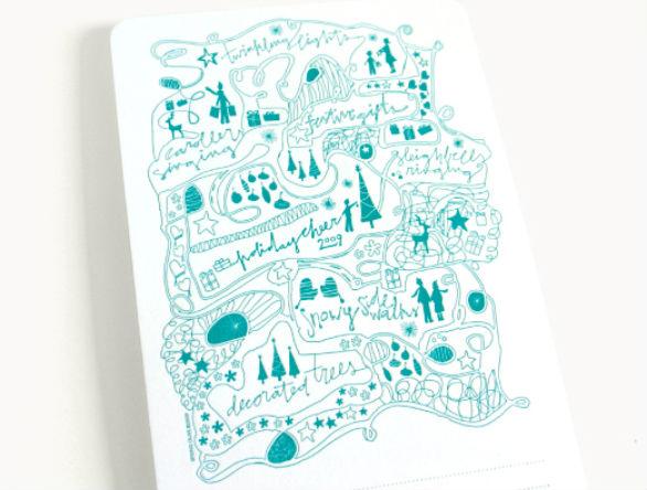 Holiday Card Ideas - Portfolio Illustration