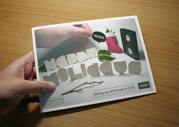 Holiday Card Ideas - Self Promo