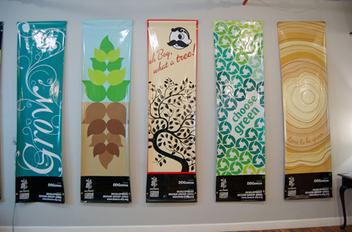 Outdoor Vinyl Banners  Examples To Inspire Your Designs UPrinting - Vinyl banners design
