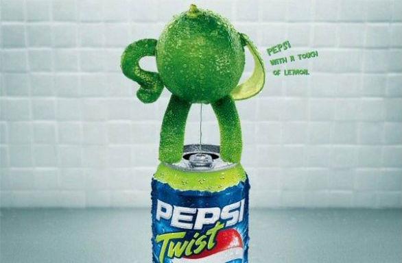 Promotional Banner Printing - Pepsi Lime