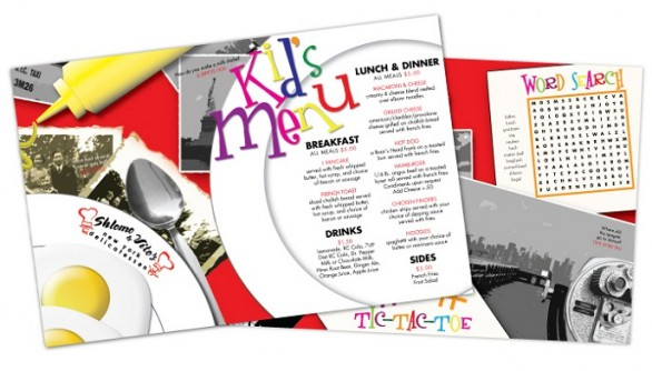 Restaurant Menu Ideas for Kids : Tips for Kid-Friendly Designs ...