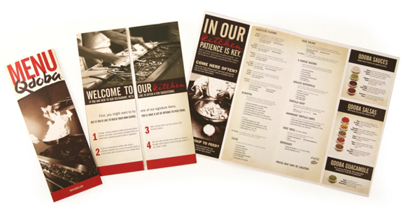 restaurant menu samples - Restaurant Menu Design Ideas