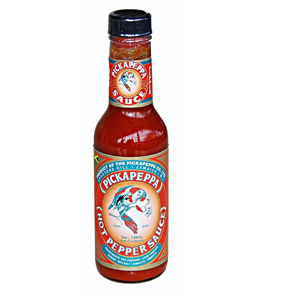 hot sauce labels - pickapeppa