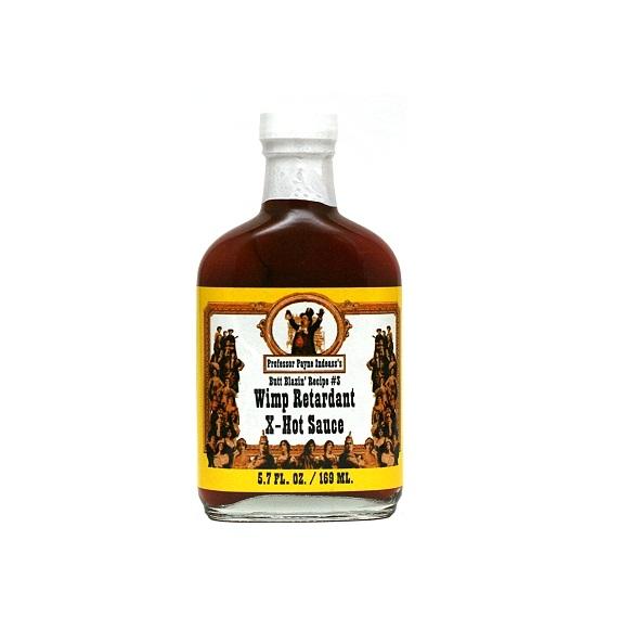 hot sauce labels - wimp retardant