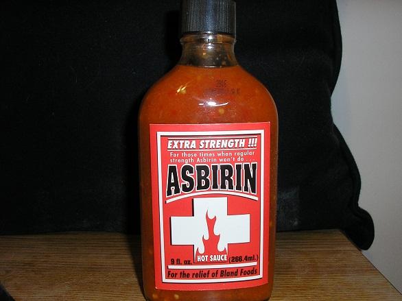 hot sauce labels - asbirin