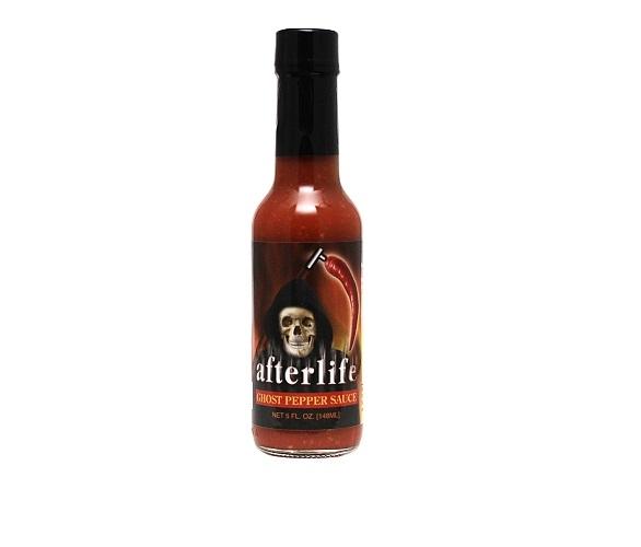 hot sauce labels - afterlife