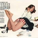 Pin-up Girl Calendar Illustrations : 20 Va-Va-Voom Examples
