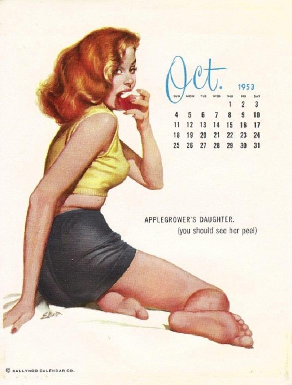 Pin-Up Girl Calendar - Apple Grower's Daughter