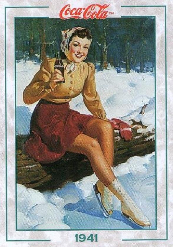 Pin-Up Girl Calendar - Coke Girl 1941