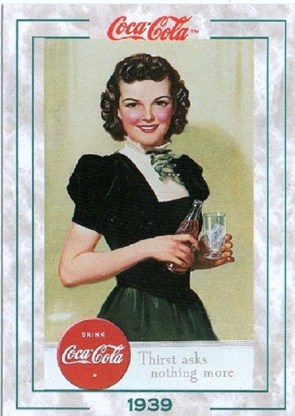 Pin-Up Girl Calendar - Coke Girl 1939
