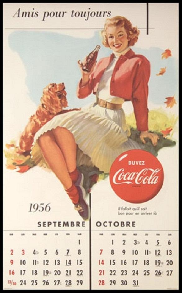 Pin-Up Girl Calendar - Canadian Thanksgiving