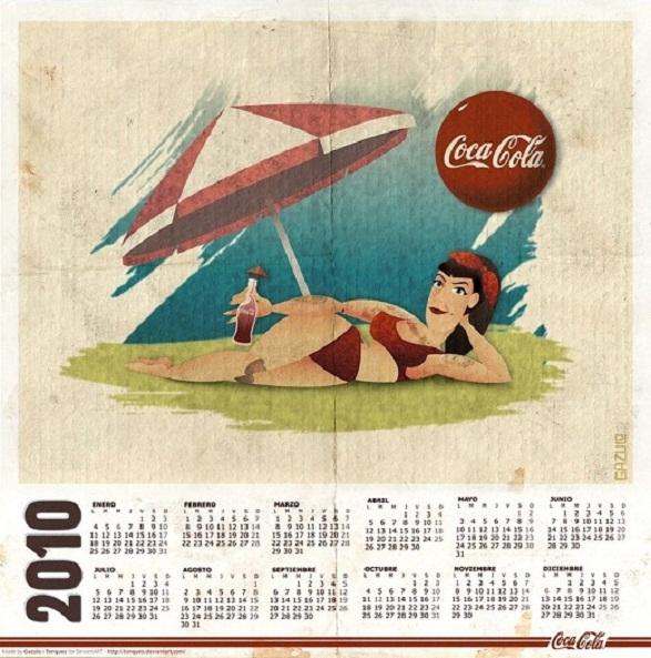Pin-Up Girl Calendar - Majo's Calendar by Tonquez