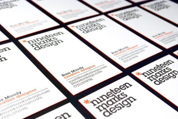 Cool Business Card Designs - Ross Moody