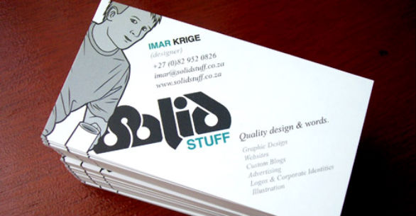 Cool Business Card Designs - Imar Krige