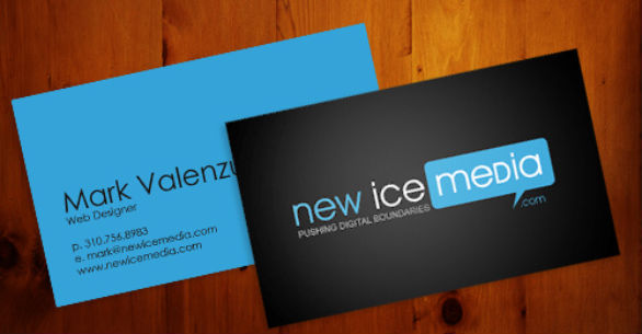 Cool Business Card Designs - Mark Valenzuela