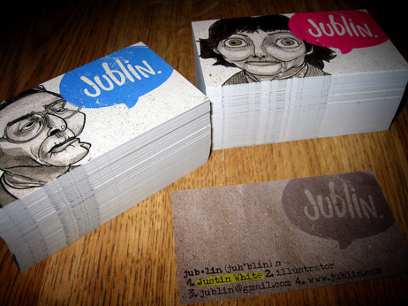 Cool Business Card Designs - Justin White