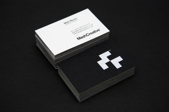 30 cool business card designs of graphic and web designers uprinting cool business card designs mark bloom reheart Gallery