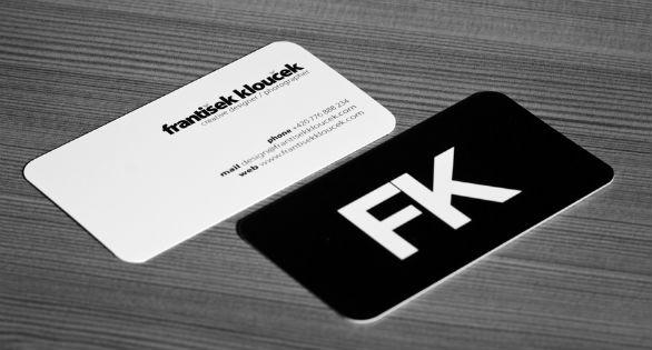 Cool Business Card Designs - Frantisek Kloucek