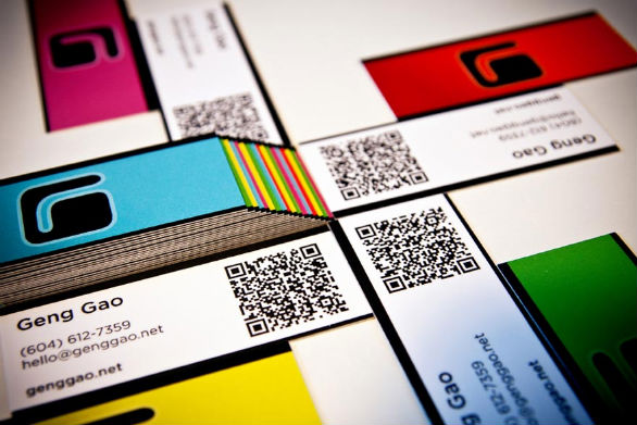 Cool Business Card Designs - Geng Gao