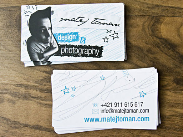 Cool Business Card Designs - Matej Toman