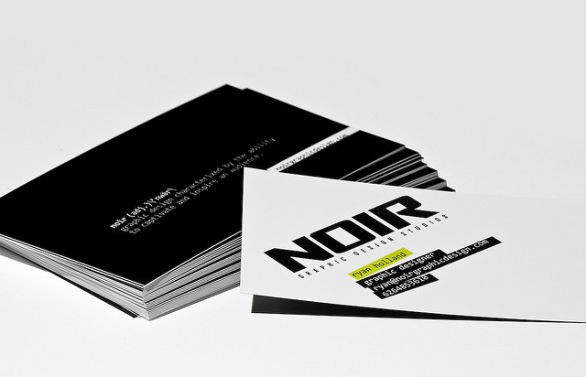 Cool Business Card Designs - Ryan Holland