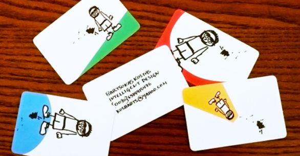 Cool Business Card Designs - Bartsokas Kostas