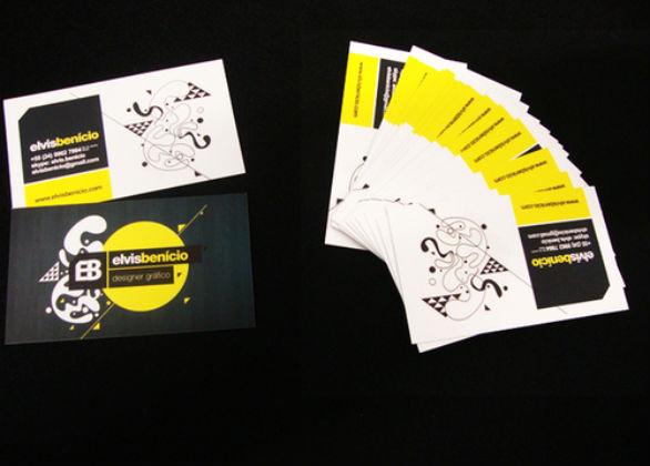 Cool Business Card Designs - Elvis Benício