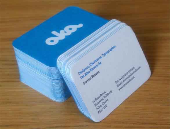 Cool Business Card Designs - Steven Bonner