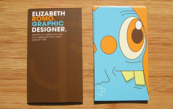 Cool Business Card Designs - Elizabeth Romo